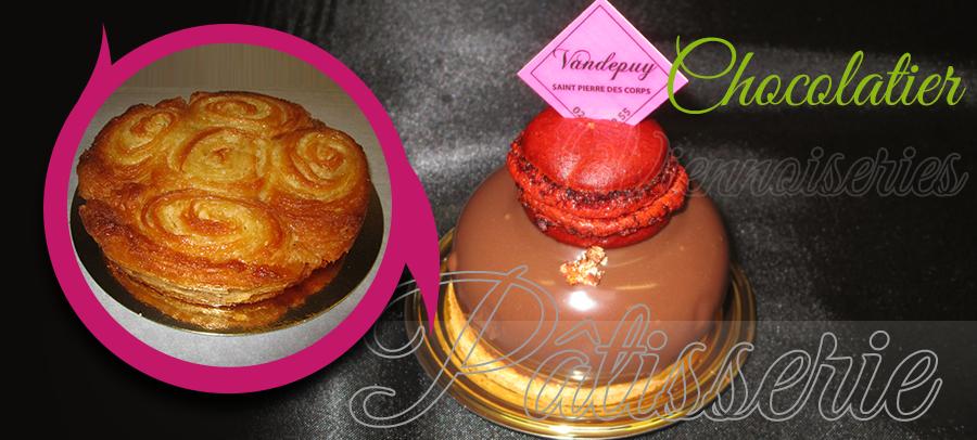 pâtissier, gâteau anniversaire à saint-pierre-des-corps : vandepuy